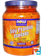 Soy Protein Isolate, Now Foods, 544 g