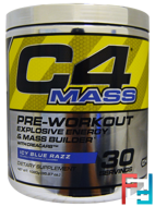 C4 Mass, Pre-Workout Explosive Energy & Mass Builder, Cellucor, 35.97 oz, 1020 g