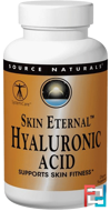 Skin Eternal Hyaluronic Acid, 50 mg, Source Naturals, 60 Tablets