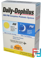 Daily-Dophilus, AM/PM Complete Probiotic System, Country Life, 112 Veggie Caps
