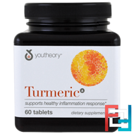 Turmeric, Youtheory, 60 Tablets