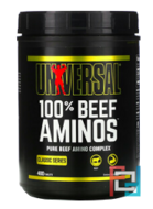 100% Beef Aminos, Universal Nutrition, 400 tablets