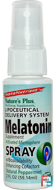 InstaNutrient, Melatonin Supplement Spray, Natural Peppermint, Nature's Plus, 2 fl oz (59.14 ml)