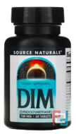 DIM, Source Naturals, 100 mg, 60 Tablets