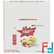 Crispy Protein Bar, Caramel Pretzel, OOH Snap!, 7 Bars, 1.6 oz (44 g) Each