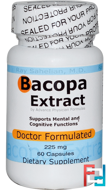 Bacopa Extract, 225 mg, Advance Physician Formulas, Inc., 60 Capsules