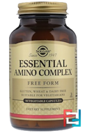 Essential Amino Complex, Solgar, 90 Vegetable Capsules
