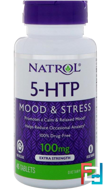 5-HTP TR, Time Release, Natrol, 100 mg, 45 Tablets