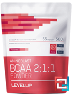 Aminoblast BCAA Powder, Level UP,  500 g
