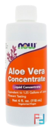 Aloe Vera Concentrate, Now Foods, 4 fl oz, 118 ml