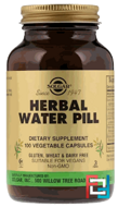 Herbal Water Pill, Solgar, 100 Vegetable Capsules