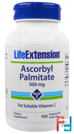 Ascorbyl Palmitate, 500 mg, Life Extension, 100 Veggie Caps