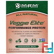 Veggie Elite, Performance Protein, MRM, 10 Packets, 12.0 oz, 340 g - 01/19