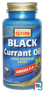 Black Currant Oil, 500 mg, Health From The Sun, 90 Mini Softgels