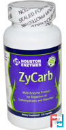 ZyCarb, Multi-Enzyme, Houston Enzymes, 120 Capsules