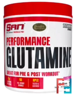 Performance Glutamine, SAN, 600 g