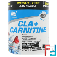 CLA + Carnitine, BPI Sports, 11.29 oz, 320 g