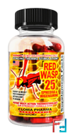 Red Wasp 25 (Красная Оса 25), ClomaPharma Laboratories, 75 capsules