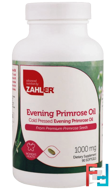 Evening Primrose Oil, Zahler, 1000 mg, 90 Softgels
