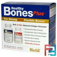 BioSil, Healthy Bones Plus, Natural Factors, Two-Part Program
