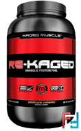Re-Kaged, Anabolic Protein Fuel, Kaged Muscle, 2.06 lbs, 936 g