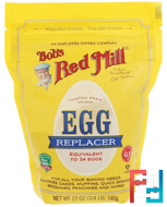 Egg Replacer, Bob's Red Mill, 12 oz (340 g)