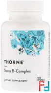 Stress B-Complex, Thorne Research, 60 Vegetarian Capsules