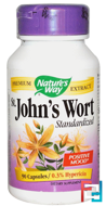 St. John's Wort, Standardized, Nature's Way, 90 Veggie Caps