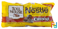 Chunks, Real Semi-Sweet Chocolate, Nestle Toll House, 11.5 oz (326 g)