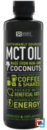 MCT Oil, Unflavored, Sports Research, 16 oz, 473 ml