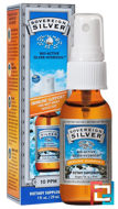 Bio-Active Silver Hydrosol, Immune Support, Fine-Mist Spray, 10 ppm, Sovereign Silver, 1 fl oz (29 mL)