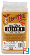 Bread Mix, 100% Whole Wheat, Bob's Red Mill, 19 oz (538 g)