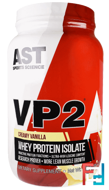 VP2, Whey Protein Isolate, AST Sports Science, 1.98 lbs, 896 g