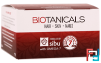 Biotanicals, Hair, Skin, Nails with Omega-7, Sibu Beauty, 60 Vegetarian Softgels