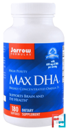 Max DHA, Jarrow Formulas, 180 Softgels