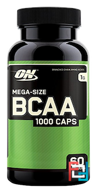 BCAA 1000 Caps, Optimum Nutrition, 1000 mg, 60 capsules