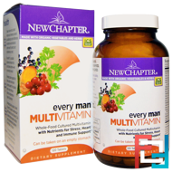 Every Man Multivitamin, New Chapter, 120 Tablets