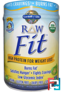 High Protein for Weight Loss, Garden of Life, RAW Organic Fit, 15 oz, 420 g
