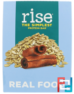 The Simplest Protein Bar, Sunflower Cinnamon, Rise Bar, 12 Bars, 2.1 oz (60 g) Each