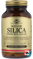 Oceanic Silica, From Red Algae, Solgar, 100 Veggie Caps
