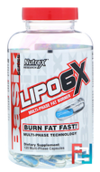 Lipo 6X, Nutrex Research Labs, 120 Muli-Phase Capsules