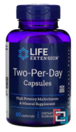 Two-Per-Day Capsules, Life Extension, 60 Capsules