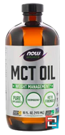 Sports, MCT Oil, Pure, Now Foods, 16 fl oz (473 ml)