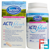 Actiflora+, Potent Natural Biostimulator, Kendy USA, 100 Veggie Caps