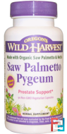 Saw Palmetto Pygeum, Oregon's Wild Harvest, 90 Non-GMO Veggie Caps