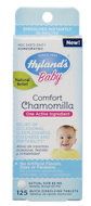 Comfort Chamomilla, Baby, Hyland's, 65 mg, 125 Quick-Dissolving Tablets