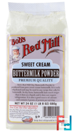 Sweet Cream Buttermilk Powder, Bob's Red Mill, 24 oz (680 g)