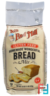 Homemade Wonderful Bread Mix, Gluten Free, Bob's Red Mill, 16 oz (453 g)