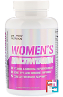 Women's Multivitamin, EVLution Nutrition, 120 Tablets