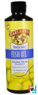 Omega Swirl, Fish Oil, Lemon Zest, Barlean's, 16 oz, 454 g